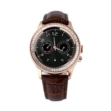 2016 MT6260 Wasserdicht Diamant Bluetooth Frauen anti-verlorene Schrittzähler Smart Uhr für Android Smartwatch sms pulsmesser