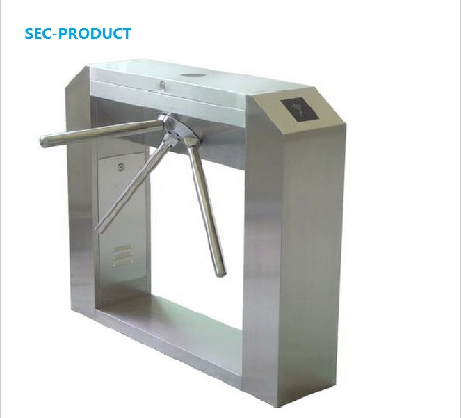 Full- Automatic Access Control Solenoid Electric Tripod Turnstile for Bulding Office Exit Entrance Bridge Style Tripod Turnstile full tripod turnstile three armed rotating security gate operater for access control system