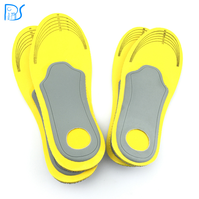 7afbe1ba1e feet care 1 pair 3D premium women men comfortable shoes orthotic insoles  inserts high arch support pad