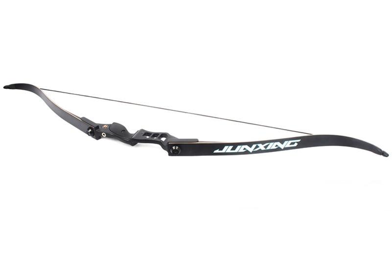 54 pouces arc classique 30-50 lbs longueur de hauteur 17 pouces arc de chasse américain pour tir à l'arc Sport de plein air pratique de chasse - 5