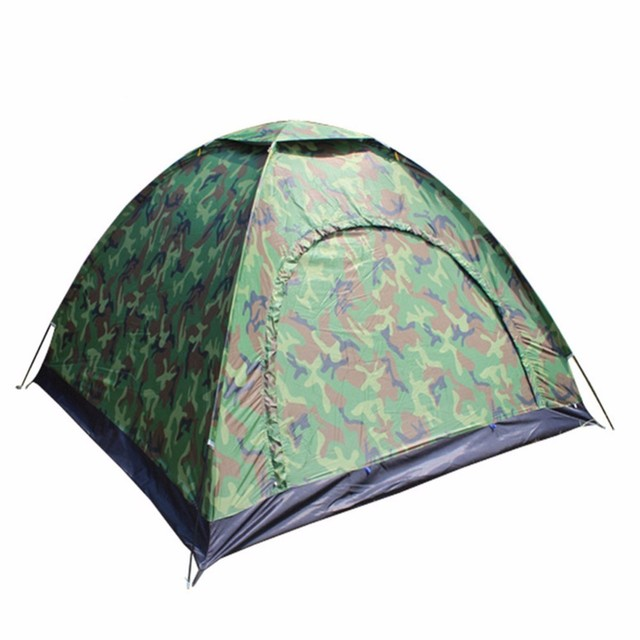 2017 Hot Sale High Quality Four-person Tent Outdoor Camping Single Tent Onebedroom Waterproof  Windproof Ultraviolet-proof Tent