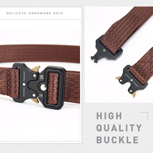 Tactical Military Style Canvas Belt