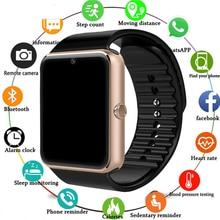 GT08 Smart Watch For Apple Watch Men Women Android Wristwatch Smart Electronics Smartwatch With Camera SIM TF Card PK Y1 A1 smart watch gt08 black