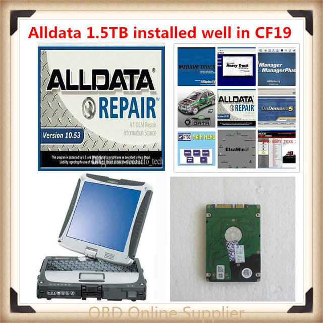 2018 hot sale alldata and mitchell 2014 V10.53 alldata repair ...