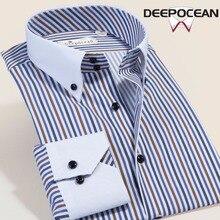 Демисезонный Для мужчин Рубашки для мальчиков хлопок Рубашки в клетку брендовая одежда с длинными рукавами платье Бизнес плюс Размеры Повседневная рубашка Camisa,