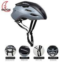 Moon riding 자전거 헬멧 환기 편안한 안전 보호 사이클링 헬멧 초경량 일체형 자전거 헬멧