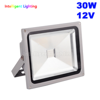 30W 12V Flood light Red/Blue/Green/ RGB/White/Warm White Waterproof IP65 outdoor led light lamp with IR 24 keys(only RGB have)