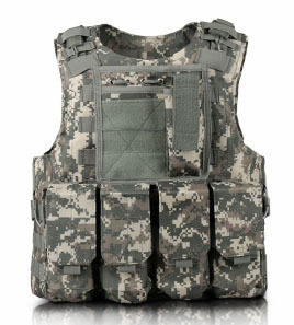 Image 4 - Children Outdoor CS Shooting Protection Gear Vest Kid Military Combat Training Camping Hunting Multi function Tactical Waistcoat