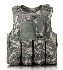 Image 4 - Enfants en plein air CS tir Protection équipement gilet enfant militaire Combat formation Camping chasse multi fonction tactique gilet