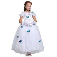 ABGMEDR Kids Girls Party Princess Cinderella Dresses Baby Halloween Christmas Cosplay Performance Dress Children Aurora Belle
