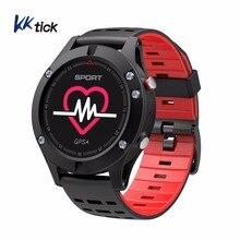 KKTICK F5 Atividade Rastreador GPS Dispositivos Wearable relógio Inteligente Bluetooth 4.2 Altímetro Barômetro Termômetro relógio Do Esporte GPS