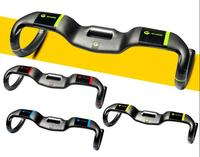 New 4 Colors ASIACOM Road Bike T800 Matte UD Full Carbon Fibre Bicycle Handlebar Step Uplift