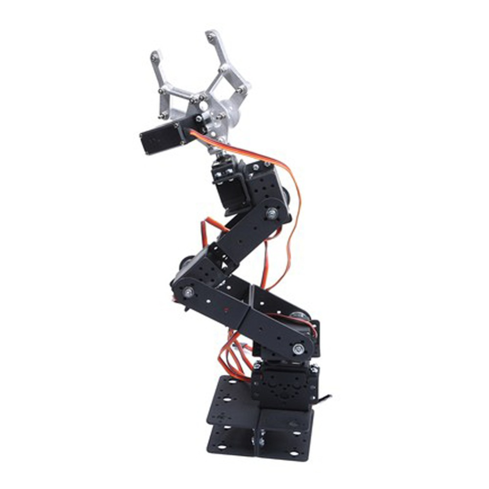 RCmall 6 DOF Mechanical Manipulator Robot Arm Kit For Smart Car Arduino Robot Parts Teaching Platform OR with servo FZ1765/A intelligent force and position control of 6 dof robot manipulator
