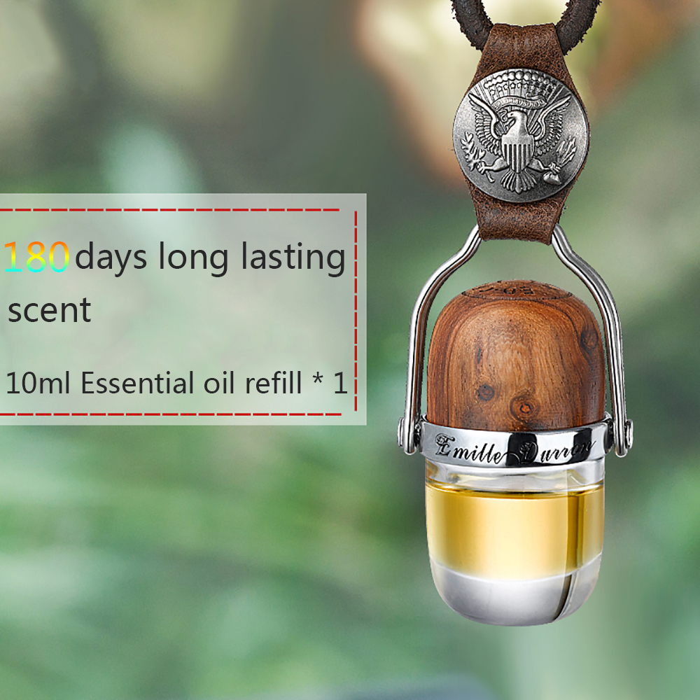 Car Freshener Perfume Hanging Pendant Plant Essential Oil Diffuser Auto Interior Fragrance Scent Smell Air Cleaner Accessories moonbiffy air force 2 creative car outlet vent clip air freshener perfume fragrance scent sweet smell aromatic cologne bouquet
