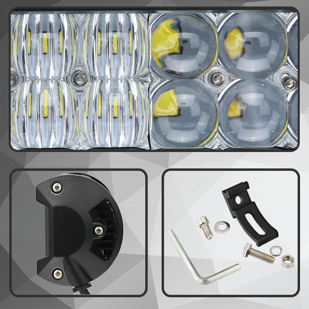 HALLO EOVO Real Power 4D 5D 9,5 Zoll Led lichtleiste für Arbeit ...