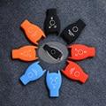 4 colores caso de la cubierta de silicona llave del coche de shell para mercedes benz w203 CLK w211 e200 c180 AMG Ces clase titulares de los llaveros accesorios