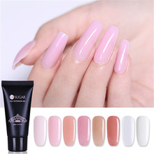 UR SUGAR 30g Poly Extension Gel Acrylic Pink White Clear Crystal UV LED Quick Building Tips Enhancement Slip Solution