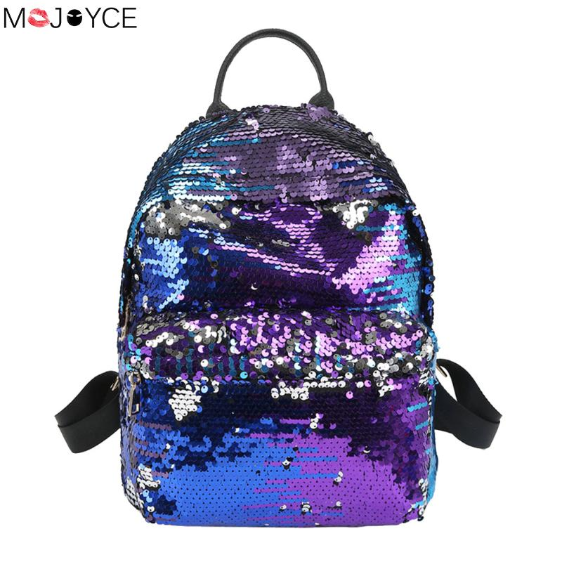 Sequins Backpacks Teenager Girls PU mochila Bling Backpack mochila glitter Girls Travel Shoulder Bags School Bag sequin backpack men backpack student school bag for teenager boys large capacity trip backpacks laptop backpack for 15 inches mochila masculina