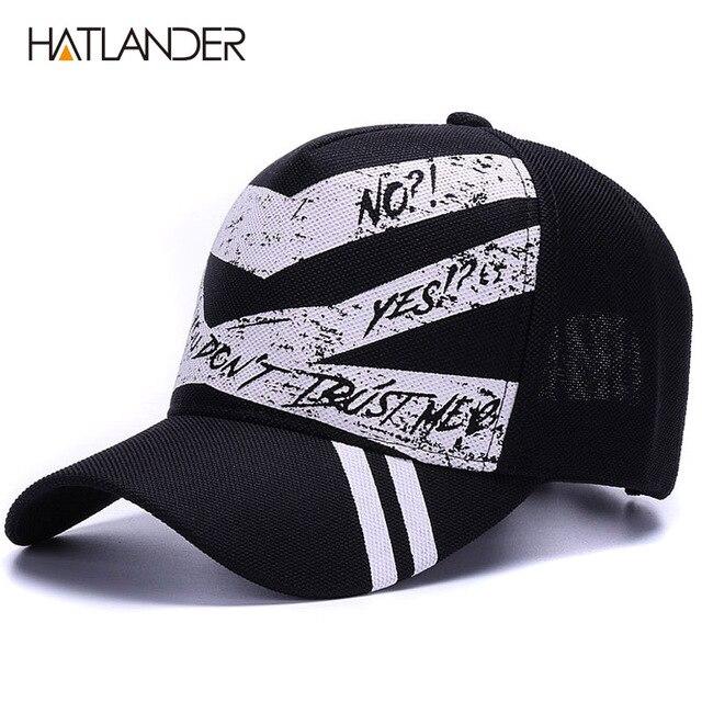 4d2821ba1a0  HATLANDER Fashion 5panel graffiti baseball caps women outdoor sports hats  men cap gorras summer casual running hat