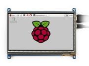 module Waveshare Raspberry Pi 3 B 7inch HDMI LCD Display 800*480 Touch Screen Support Lubuntu Raspbian various systems new arrival 3 5 inch raspberry pi 3 lcd 800 480 raspberry pi display screen also support for raspberry pi 2 model b b