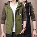 2017 New Autumn and Winter Coat Jacket Men Male Korean Cultivating Men's Sportwear Coat Leisure Jackets