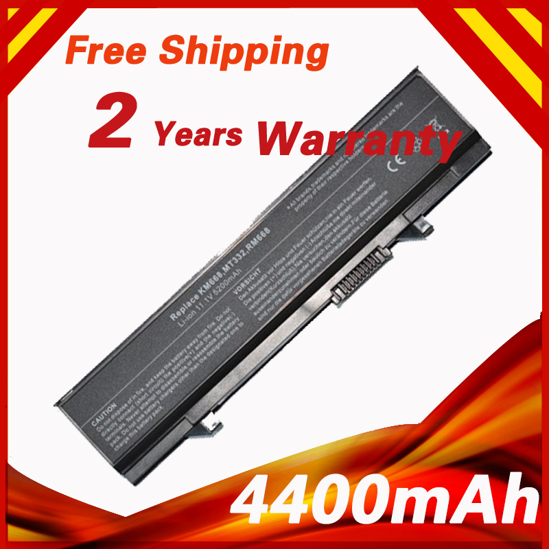 Golooloo 6 Cell Battery For Dell KM742 KM752 KM760 KM769 KM771 KM970 MT186 MT187 MT193 MT196 MT332 P858D PW640 PW649 4400mAh