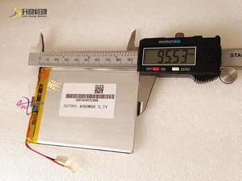 3.7 В 4000 мАч (полимер литий-ионный аккумулятор) литий-ионный аккумулятор для планшетных ПК 7 дюймов MP3 MP4 [357095] Бесплатная доставка