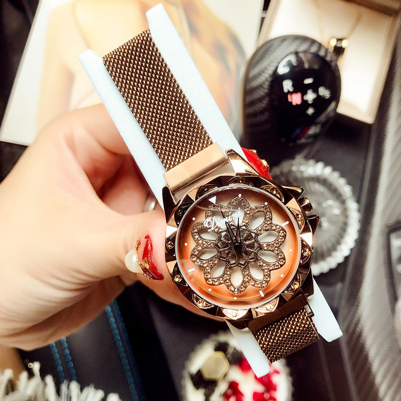 2019 New Luxury Brand Womens Watch Woman Wristwatches Lady Rotating Dial Dress Women Quartz Ladies Wrist Watch Relogio Feminino2019 New Luxury Brand Womens Watch Woman Wristwatches Lady Rotating Dial Dress Women Quartz Ladies Wrist Watch Relogio Feminino