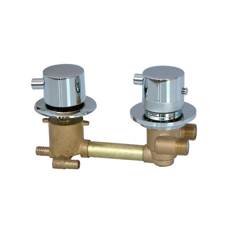 Anpassen 2/3/4 Möglichkeiten wasser outlet Dusche zimmer thermostat wasserhahn dusche misch ventil, thermostat dusche mixer ventil