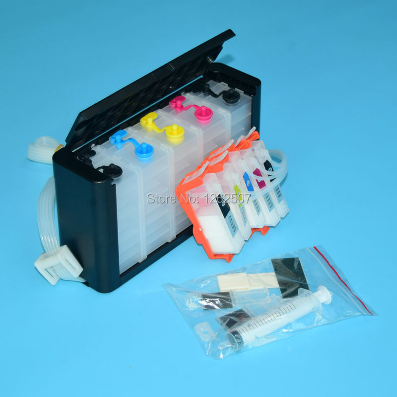 5 Colors Ciss ink tank For HP 564 Continuous Ink System For HP Photosmart C309a 7510 C309g C210a C410a