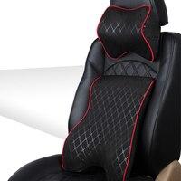 Car Headrest Seat Massage Memory Foam Cushion Seat Cushion Set And Car Headrest Neck Support Or
