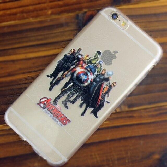 carcasa iphone 6 plus marvel
