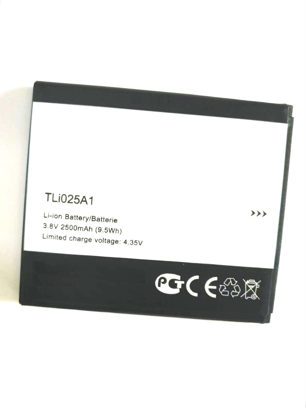Westrock 2500mAh TLi025A1 Battery For Alcatel One Touch POP 4 5051D Cell Phone