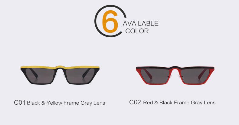 HTB1749kcf2H8KJjy0Fcq6yDlFXa1 - Winla Fashion Design Women Sun Glasses Flat Top Sunglasses Square Frame Classic Shades Vintage Eyewear Oculos de sol WL1145