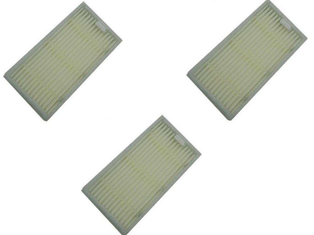 3 Pieces Replacement hepa filter for Dibea X500 X600 ECOVACS CR120 vacuum cleaner accessories 1pcs right wheel assembly for ecovacs deebot cr120 cen540 dibea x500 vacuum cleaner replacement parts