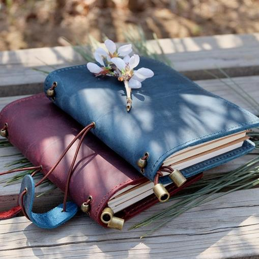 Alice Story 100% Genuine Leather Multi Function Traveler's Notebook Diary Journal Vintage Handmade Cowhide Notebook Planner vintage traveler s notebook cowhide diary handmade journal 100% genuine leather spiral looes leaf diy