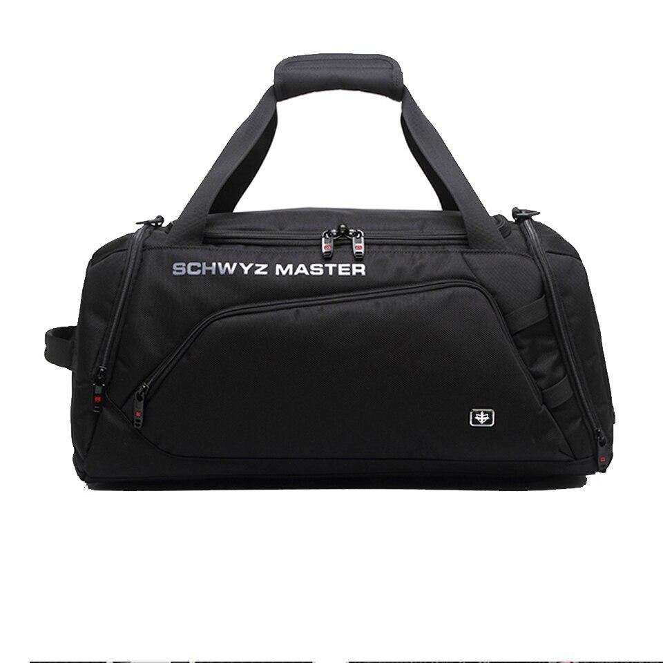 Brand Swiss Travel Bags Men and Women Handbag Large Capacity Fashion Luggage Bag Short Distance Travel