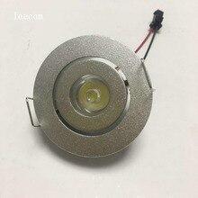 10pcs/lot  Mini LED Cabinet Spotlights 95-265v CREE Recessed Spot light Diameter 52mm Include Led Driver