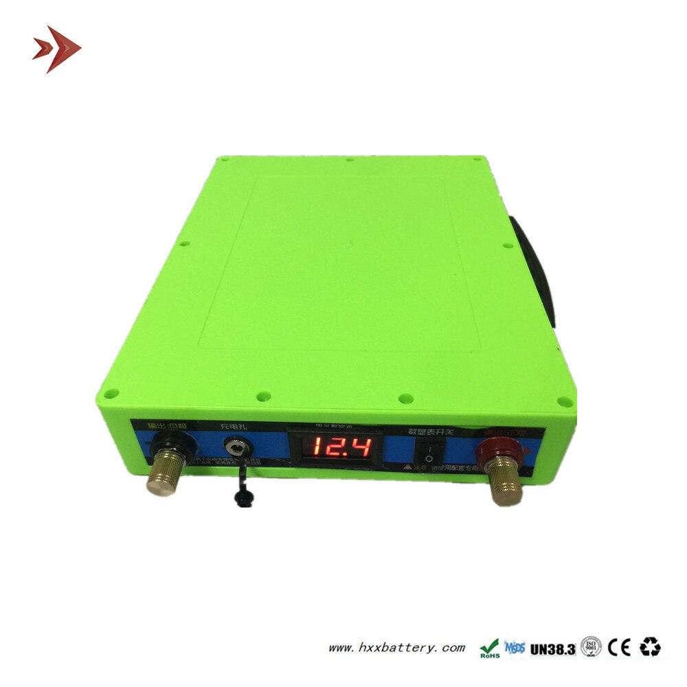 12 V 35AH Lithium-ion Batterie avec BMS pour le Stockage D'énergie Mobile Extérieur Portatif D'alimentation d'énergie Verte Cycles Profonds