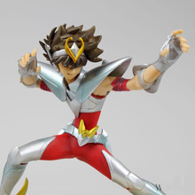 NEW 13cm Saint Seiya Action Figure Toys Battle State Pegasus PVC Model Collection Dolls for Children Brithday Christmas Gifts
