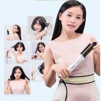 32 мм 2 Цвет доступны Электрический бигуди для волос Интеллектуальный 220 В Керамика выпрямитель для волос, щипцы для завивки волос для девоче