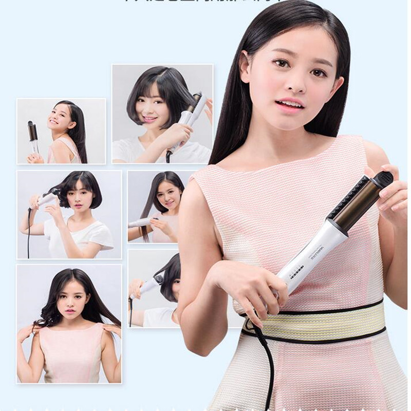 32MM 2 Color Available Electric Hair Curler Intelligent 220V Ceramic Hair Straightener Hair Curling Iron For Girl Gift EU/AU/UK alimice hair aunty funmi hair for uk