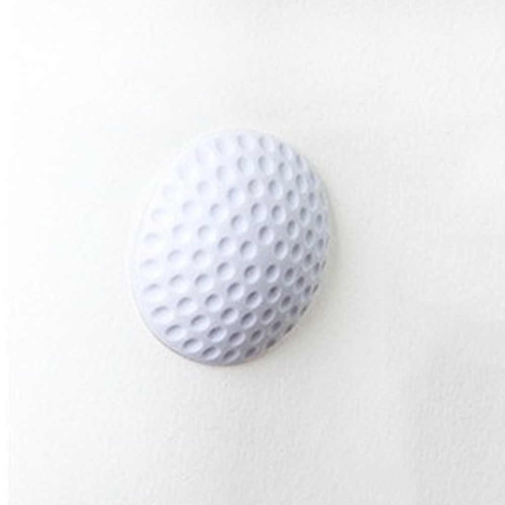Уплотнение стены бесшумные двери крылья для гольфа моделирование Силиконовое крыло Ручка Дверной замок защитная накладка Защитная настенная палка коврик