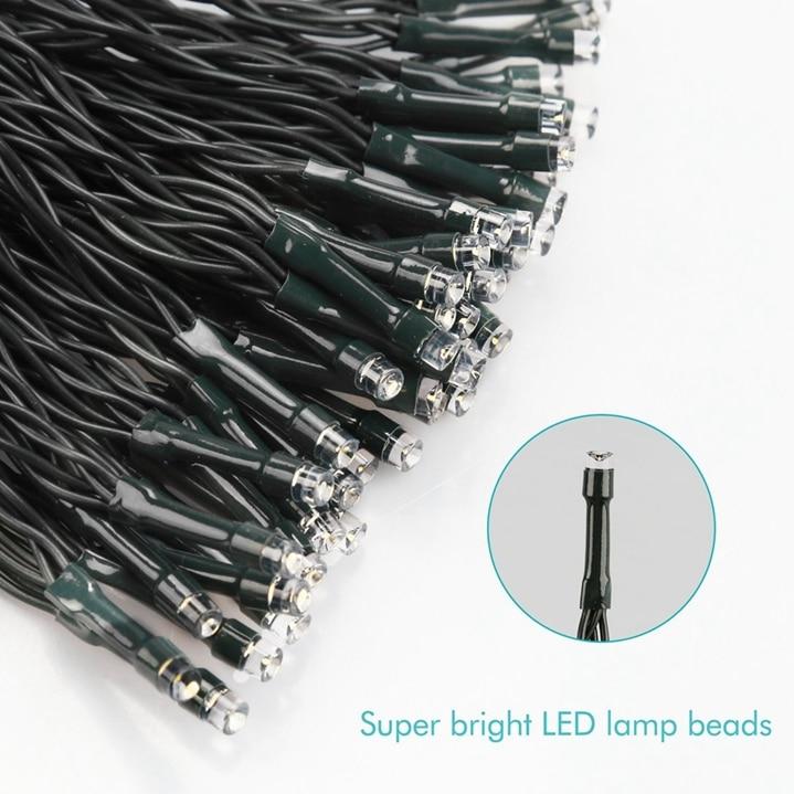 Cordas led solar 50 m 5000 leds