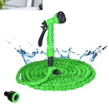 Hot Selling 25-150FT Garden EU Hoses Pipe With Spray Gun To Watering Car Wash Hose Expandable Magic Flexible Water