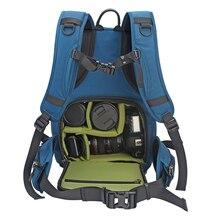 Цифровой зеркальной Камера рюкзак водостойкий мягкий фотографии сумка с дождевик для Nikon Canon Sony DSLR Объективы для фотоаппаратов