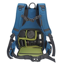 Digital SLR Camera Backpack Water-resistant Padded Photography Bag with  Rain Cover for Nikon Canon d0ed31fd8e569