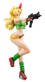 Anime Dragon Ball Z Gals Girls the Bad Launch Lunchi Action Figure | 19cm