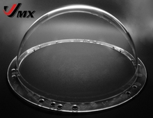 JMX 9 INCH Acrylic Indoor / Outdoor CCTV Replacement Clear Camera Dome Housing Security Dome Camera Cover