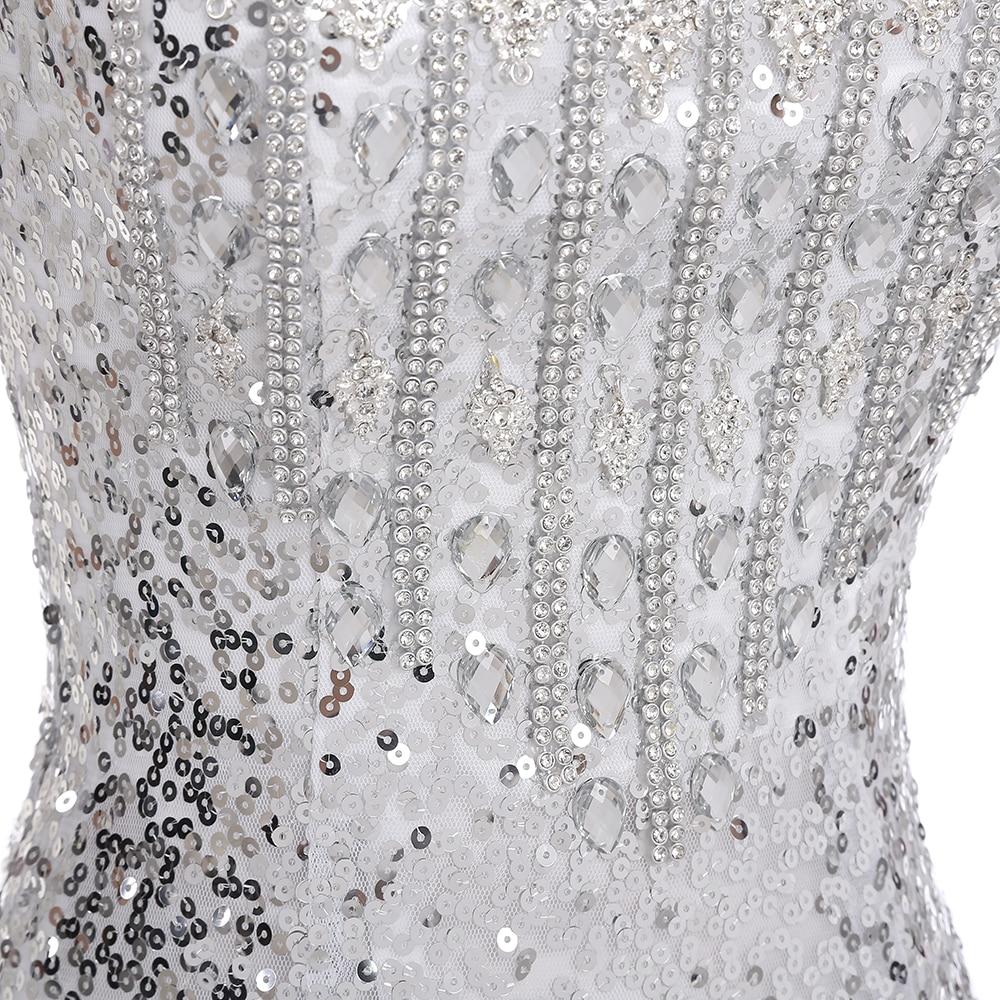 2019 Duga sirena Večernje haljine Formalne Prom haljina Sequins - Haljina za posebne prigode - Foto 5